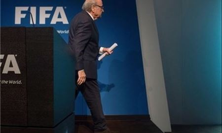 بلاتر: به خاطر آینده بهتر فوتبال میروم