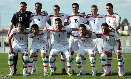جدیدترین ردهبندی تیمهای ملی فوتبال