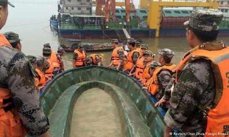 شمار کشته شدگان کشتی تفریحی چینی به ۴۳۱ نفر افزایش یافت