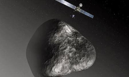 پایان غمانگیز روزتا در برخورد با سیارک اسرار آمیز