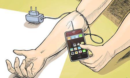 اعتیاد به تلفن همراه روز به روز جدی تر می شود