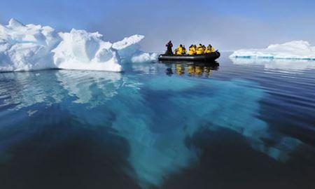 آغاز گسترده عملیات پاکسازی قطب شمال