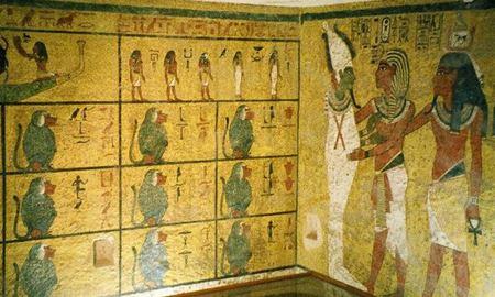 گزارش تصویری از داخل مقبره فراعنه