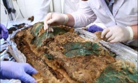 آنالیز تابوت مومیائی کشف شده در قطب شمال
