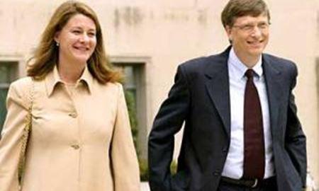 بیل گیتس و همسرش، ثروتمندترین زوج در سال ۲۰۱۵