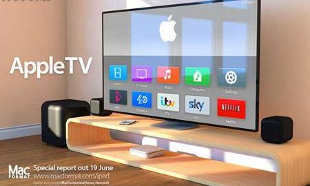 تلویزیون جدید اپل وارد بازار می شود