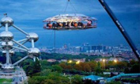 رستورانی در آسمان مالزی