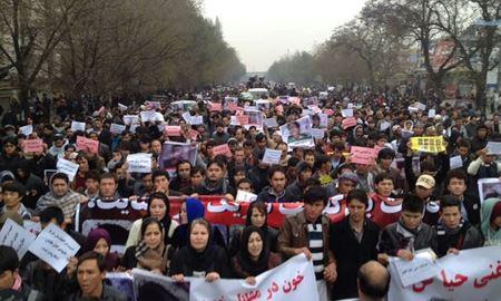ده ها هزار شهروند در یک تجمع بزرگ دادخواهی در پایتخت افغانستان