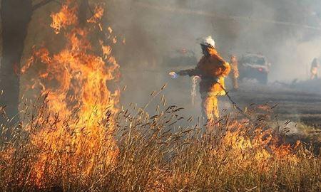 آتشسوزی درمناطق غربی استرالیا قربانی گرفت..........