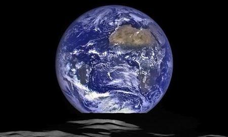 تصویر جدید ناسا از زمین؛ سنگ مرمر آبی