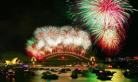 نگاهی به مراسم آتشبازی و جشنهای باشکوه سال نو میلادی در شهرهای جهان