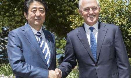 پیمان دفاعی استرالیا و ژاپن در برابر قدرت روز افزون چین