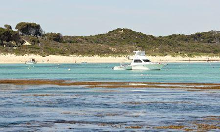 پرت...استرالیای غربی ...گاردن آيلند ، خليج هررينگ ( Herring Bay Garden Island )