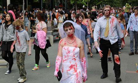 رویدادهای استرالیا...ملبورن / راهپیمای زامبی ها در ملبورن ( Melbourne Zombie Walk) شنبه 4 نوامبر2017