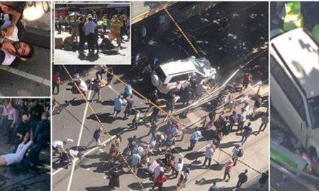 جزئیات زخمی شدن ۱۹ تن در حمله یک خودرو به عابران در ملبورن استرالیا
