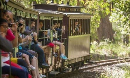 گردشگری استرالیا/ملبورن...ایالت ویکتوریا / قطار پافینگ بیلی ( Puffing Billy Railway )