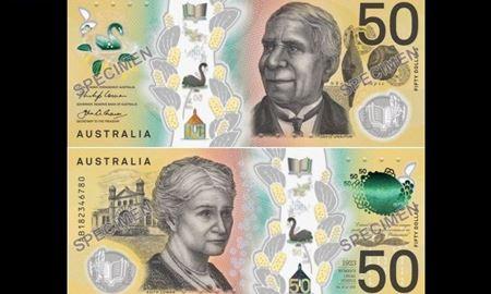 اسکناسهای 50 دلاری استرالیا با طرح جدید به بازار میآیند