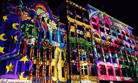 رویدادهای استرالیا / ملبورن...ایالت ویکتوریا  / جشنواره شب سفید ( White Night Melbourne  )