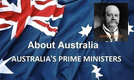 نخست وزیران استرالیا ، از ابتدا تا کنون - چهارمین نخست وزیر استرالیا - جورج رِید ( George Reid )
