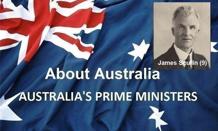 نخست وزیران استرالیا ، از ابتدا تا کنون - نهمین نخست وزیر استرالیا - جیمز اسکالین James Scullin