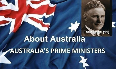 نخست وزیران استرالیا ، از ابتدا تا کنون -یازدهمین نخست وزیر استرالیا - اِرل پِیج Earle Page