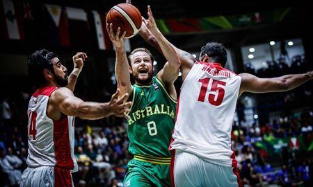 تیم ملی بسکتبال ایران در برابر استرالیا شکست خورد