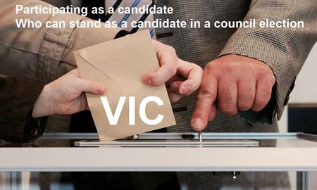 شرایط کاندید شدن در انتخابات شهرداری ایالت ویکتوریا-استرالیا