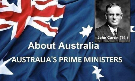 نخست وزیران استرالیا ، از ابتدا تا کنون -چهاردهمین نخست وزیر استرالیا - جان کرتین John Curtin