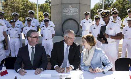 استرالیا دوازده زیردریایی از فرانسه خریداری کرد