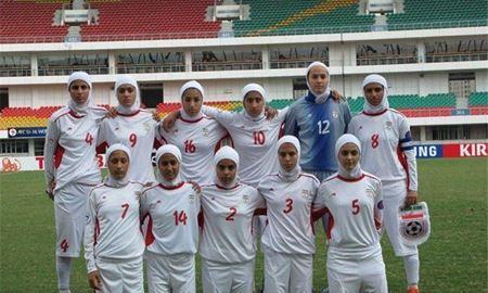 شکست تیم ملی فوتبال دختران ایران برابر استرالیا