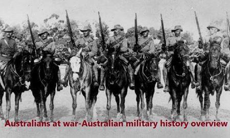 استرالیایی ها در جنگ - مرور کلی تاریخ نظامی ارتش استرالیا / قسمت ششم(6) -استراليا و جنگ جهاني اول( 1914 تا 1918 )