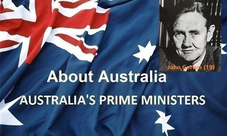 نخست وزیران استرالیا ، از ابتدا تا کنون - نوزدهمین (19) نخست وزیر استرالیا - جان گورتون  John Gorton