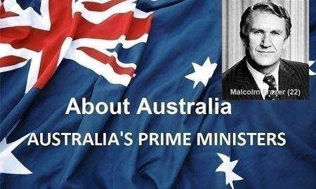 نخست وزیران استرالیا ، از ابتدا تا کنون - بیست ودومین (22) نخست وزیر استرالیا - مالکوم  فِرِیزِر(Malcolm Fraser)