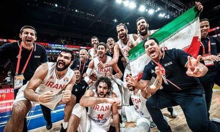 تیم ملی بسکتبال ایران سهمیه المپیک گرفت
