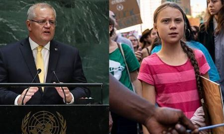 """موضوع سخنرانی اسکات موریسون در سازمان ملل، """" کاهش تولید گازهای گلخانه ای در استرالیا """""""