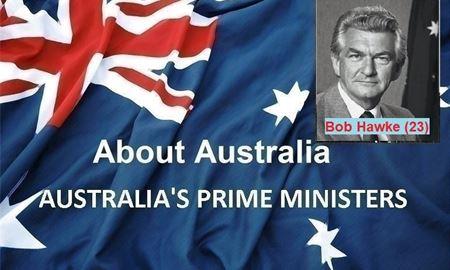 نخست وزیران استرالیا ، از ابتدا تا کنون - بیست وسومین (23) نخست وزیر استرالیا - باب هاوک(Bob Hawke)