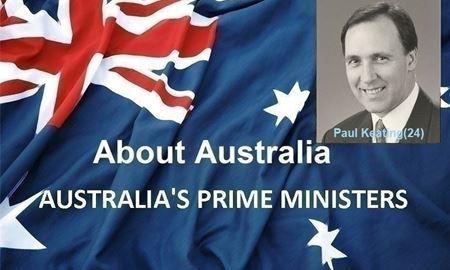 نخست وزیران استرالیا ، از ابتدا تا کنون - بیست و چهارمین (24) نخست وزیر استرالیا - پُل کیتینگ(Paul Keating)