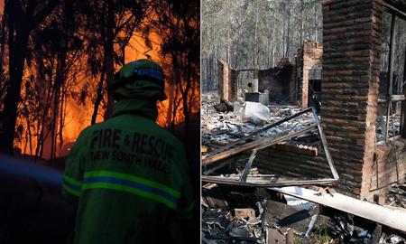 آموزش/ روشهای محافظت از خود و منزل سکونت در برابر آتش سوزی در استرالیا