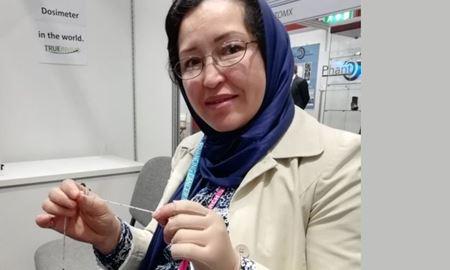 اختراع دستگاهی برای درمان سرطان توسط مخترع زن افغانستانی