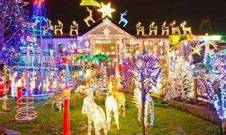گردشگری استرالیا/ایالت کوئینزلند،بریزبن QLD/بهترین چراغانی های کریسمس در بریزبن (Christmas lights bus tours in Brisbane)