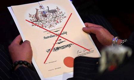 لغو شهروندی استرالیا بدلیل ارائه  مدارک هویتی جعلی