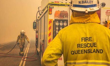 اعتراض به استفاده دولت ایالت کوئینزلند از بودجه  آتش نشانی برای مقابله با کرونا