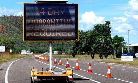 مسدود شدن مرز ویکتوریا با نیوساوتولز