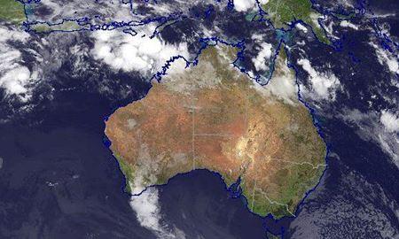 هشدار طوفان برای ساکنان ساحل پیلبارا در استرالیا