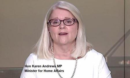 زندگینامه خانم کارن اندروز، وزیر کشور استرالیا