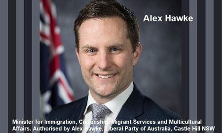 زندگینامه الکس هاوک، وزیر جدید مهاجرت استرالیا