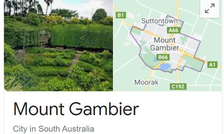 گردشگری استرالیا/مونت گامبیر(Mount Gambier) واقع در استرالیای جنوبی