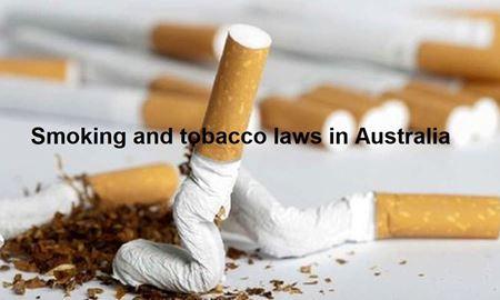 قوانین و مقررات محصولات دخانی در استرالیا