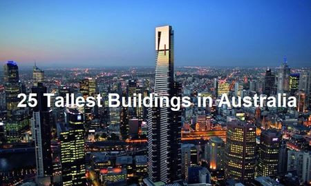 25 آسمان خراش مرتفع در استرالیا