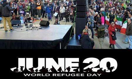 روز جهانی پناهندگان؛ یک درصد مردم جهان آوارهاند